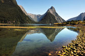 New Zealand Fiordland — Stock Photo
