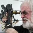 Stock Photo: Sextant - SeNavigation Instrument