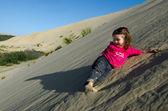 Te Paki Sand Dunes — Stock Photo