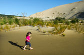 Te Paki Sand Dunes — Stock Photo