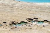 Fotos de israel - mar morto — Foto Stock