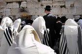 イスラエル - エルサレムの西部の壁の写真を旅行します。 — ストック写真