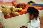 Child abuse — Stock Photo