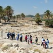Travel Photos of Israel - Tel Megiddo — Stock Photo