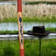 Australian Didgeridoo - Stock Photo