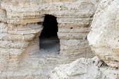 Travel Photos of Israel - Qumran Caves — Stock Photo