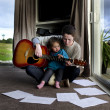 Music lessons - Stock Photo