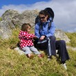 Mother and her baby travel together — 图库照片 #12405999
