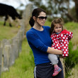 Environmental Issues Facing Dairy Farmers — Stock Photo
