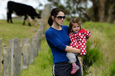 Environmental Issues Facing Dairy Farmers — Foto Stock