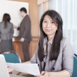 Royalty-Free Stock Photo: Asian businesswoman in the office