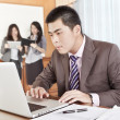 Asian businessman in the office — Stock Photo