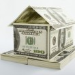 House shaped dollars — Stock Photo #10751190