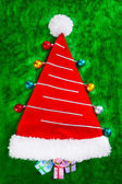 Christmas tree shape — Stock Photo