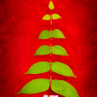 Christmas tree shape — Stock Photo #10761205