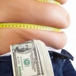 Expensive diet program — Stock Photo