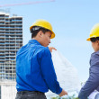 Contractors and building projects — Stock Photo #10779137