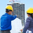 Contractors and building projects — Stock Photo #10779168