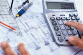 Cost of house construction — Stock Photo