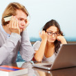 Couple having financial problem — Foto de Stock