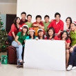Christmas group shot of Asian — 图库照片