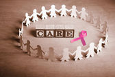 Breast cancer care — Stock Photo