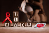 AIDS concept — Stock Photo