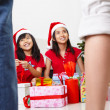 Christmas morning — Stock Photo #10991634