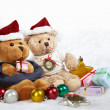 Christmas bears — Stock Photo