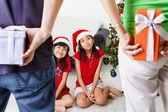 Heden voor kinderen op Kerstmis — Stockfoto