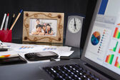 Office desk — Stock Photo