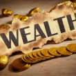 Wealth concept — Stock Photo