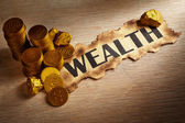 Wealth concept — Stockfoto