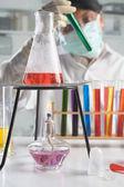 Chemical analysis — Stock Photo