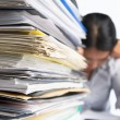 Heavy workload - Stock Photo