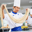 Make noodle — Stock Photo