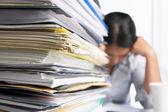 Heavy workload — Stock Photo