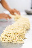 Raw noodle — Stock Photo