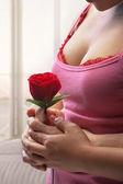 バレンタインの日に驚き — ストック写真