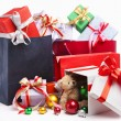 Pile of Christmas presents — Stock Photo #11043880