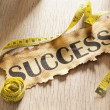 Measurement for success concept — Stock Photo #11051004