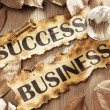 Key to success in global business concept — Stock Photo