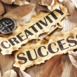 Creativity is key to success concept — Stock Photo #11051232