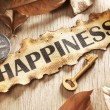 Guidance and key to happiness concept — Stock Photo