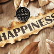 Guidance to happiness concept - Stock Photo