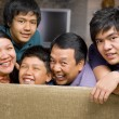 Asian family lifestyle portrait — Stock Photo #11055047