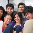 Stock Photo: Multi ethnic friendship