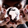 Stock Photo: Africand Europe continent