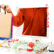 Seasonal online shopping — Stock Photo