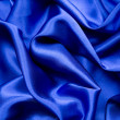 Blue satin pattern — Stock Photo